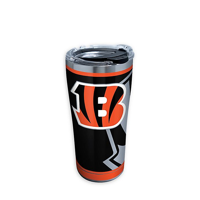 Alternate image 1 for Tervis® NFL Cincinnati Bengals Rush 20 oz. Stainless Steel Tumbler with Lid