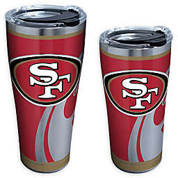 Tervis® NFL San Francisco 49ers Rush Stainless Steel Tumbler with Lid