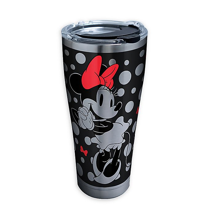 Alternate image 1 for Tervis® Silver Minnie Stainless Steel 30 oz. Tumbler with Lid
