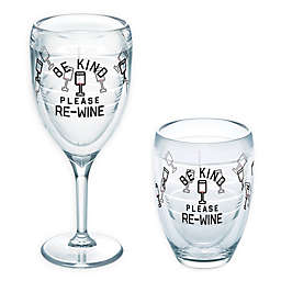 Tervis® Be Kind Please Re-Wine 9 oz. Wine Glass