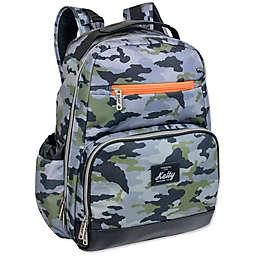 Kelty Super Cooler Backpack Diaper Bag in Black/Green
