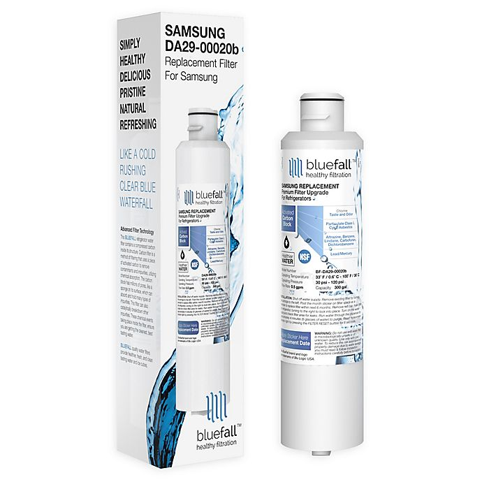 Alternate image 1 for Samsung DA29-00020B Compatible Refrigerator Water Filter by BlueFall