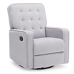 Delta Children Gavin Nursery Swivel Glider Recliner