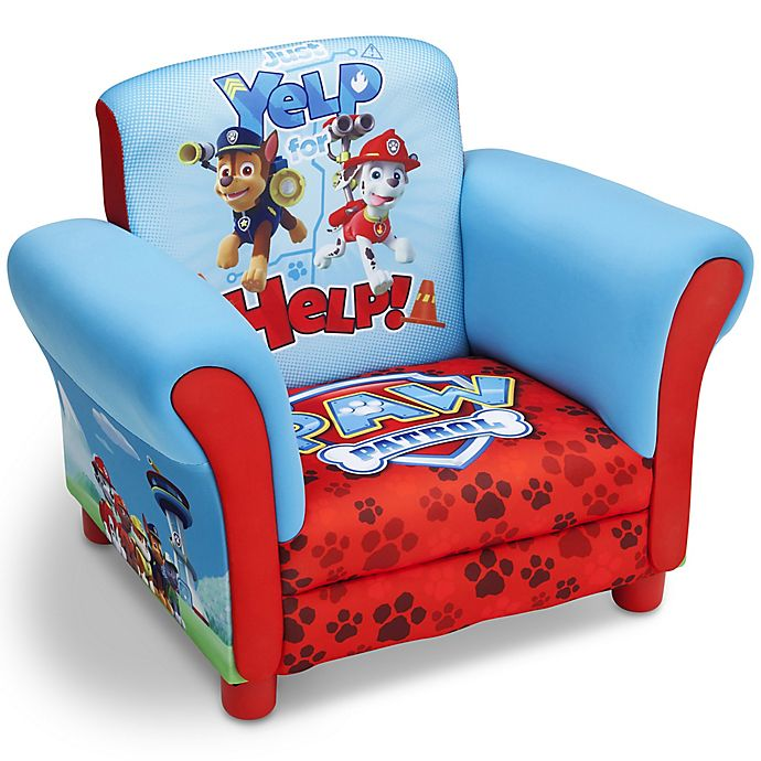 Delta Children Nick JrTM PAW Patrol Upholstered Chair In Blue View A Larger Version Of This Product Image