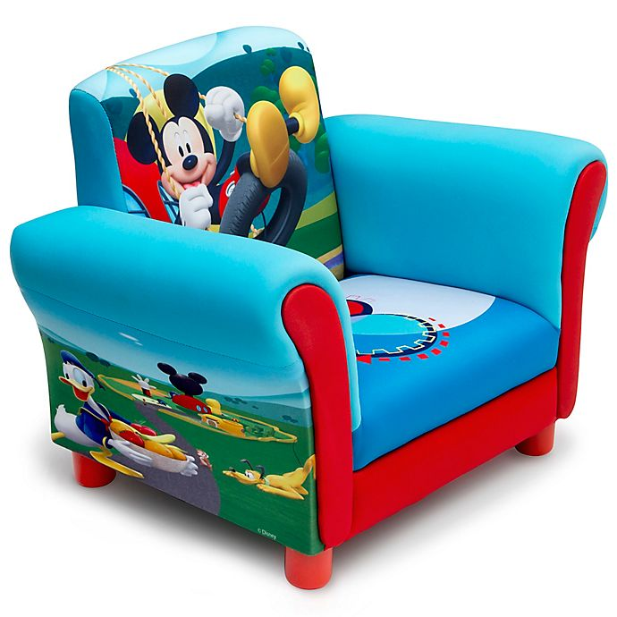 Alternate image 1 for Delta Children Disney® Mickey Mouse Upholstered Chair in Blue