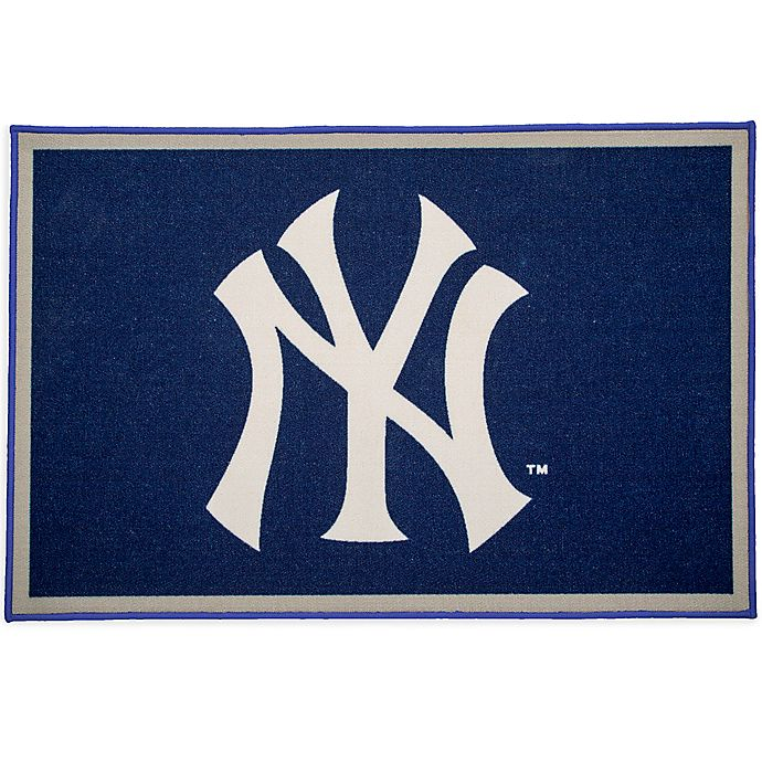 Alternate image 1 for MLB New York Yankees 2'6 x 4' Area Rug in Blue