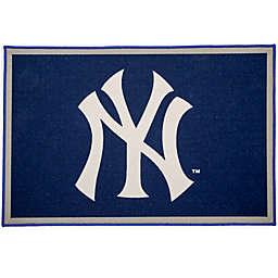 MLB New York Yankees 2'6 x 4' Area Rug in Blue