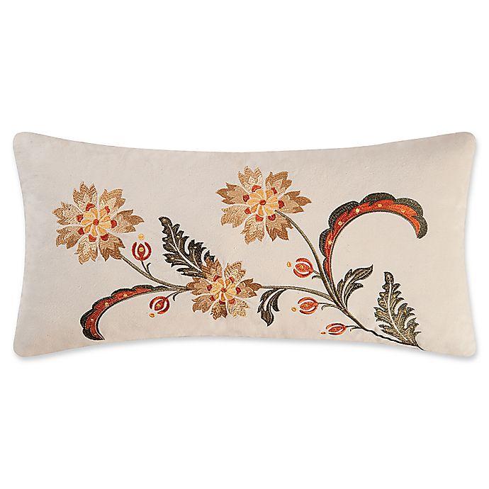 Alternate image 1 for Jocelyn Oblong Throw Pillow in Cream