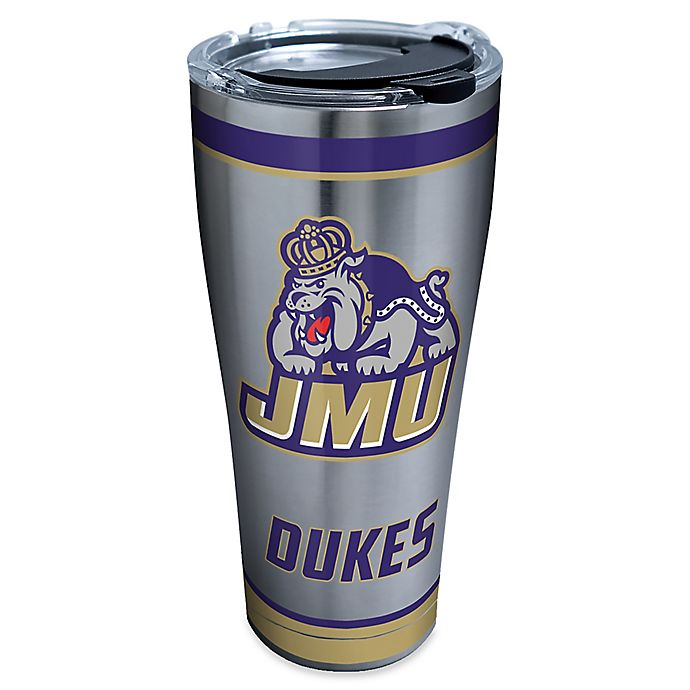 Alternate image 1 for Tervis® James Madison University Tradition 30 oz. Stainless Steel Tumbler with Lid
