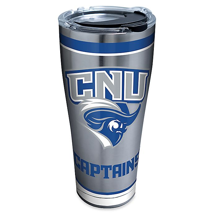 Alternate image 1 for Tervis® Christopher Newport University Tradition 30 oz. Stainless Steel Tumbler with Lid