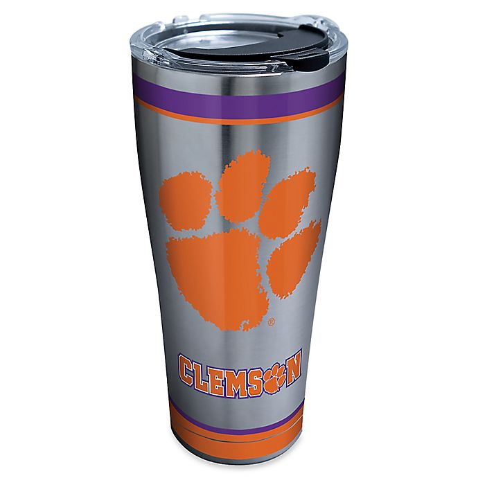 Alternate image 1 for Tervis® Clemson University Tradition 30 oz. Stainless Steel Tumbler with Lid