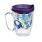 Tervis® Fiesta® Purple Floral 16 oz. Wrap Mug with Lid