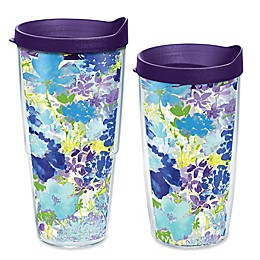 Tervis® Fiesta® Purple Floral Wrap Tumbler with Lid