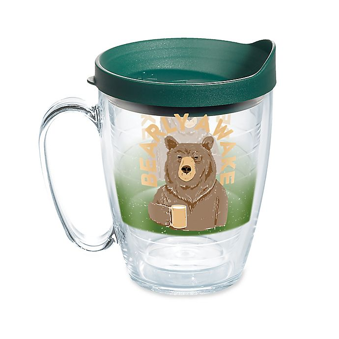 Tervis 174 Quot Bearly Awake Quot 16 Oz Wrap Mug With Lid Bed Bath