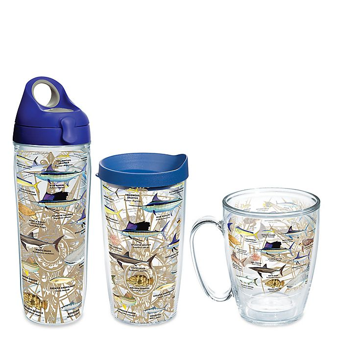 Alternate image 1 for Tervis® Guy Harvey Charts Wrap Drinkware