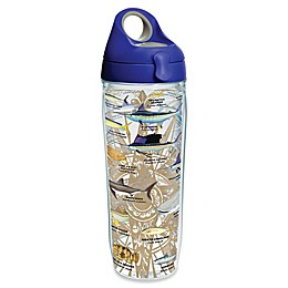 Tervis® Guy Harvey Charts 24 oz. Wrap Water Bottle with Lid