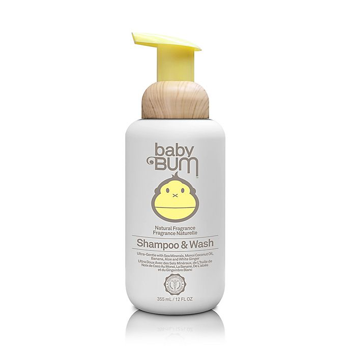 Alternate image 1 for Baby Bum™ 12 fl. oz. Shampoo & Wash in Natural Fragrance