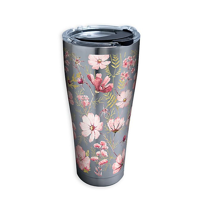 Alternate image 1 for Tervis® Pale Tonal Chic Floral 30 oz. Stainless Steel Tumbler with Lid
