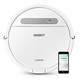 ECOVACS DEEBOT Ozmo 610 Robotic Vacuum/Mop Cleaner in White