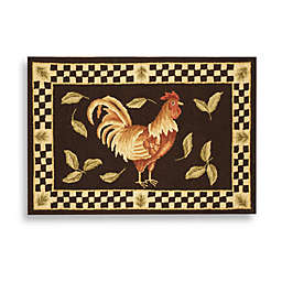 Safavieh Vintage Rooster Poster 1-Foot 8-Inch x 2-Foot 6-Inch Rectangle Rug