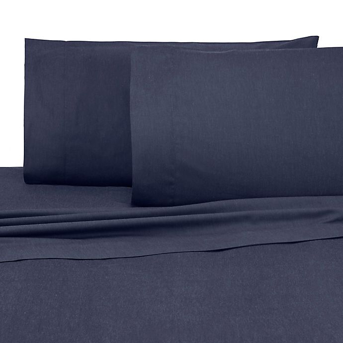 Alternate image 1 for IZOD® Relaxed Classic Full Sheet Set in Navy