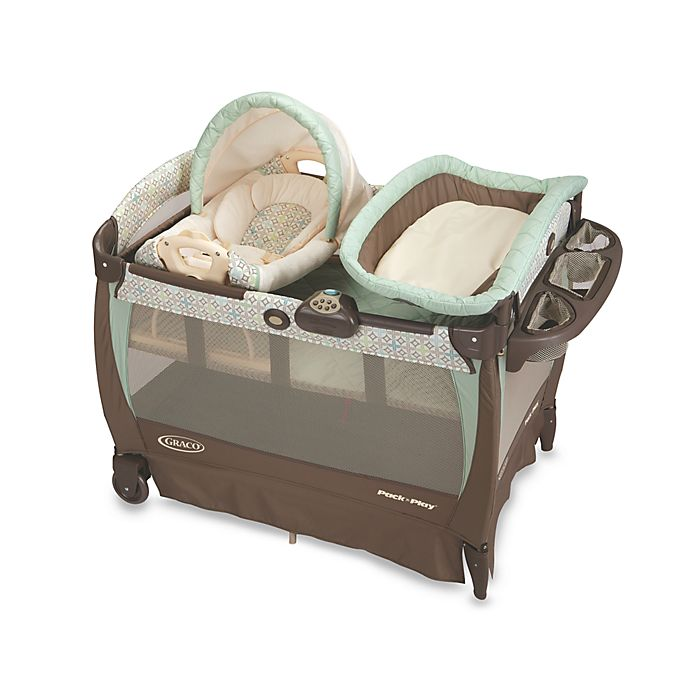 Graco® Pack 'n Play with Cuddle Cove™ Rocking Seat in ...
