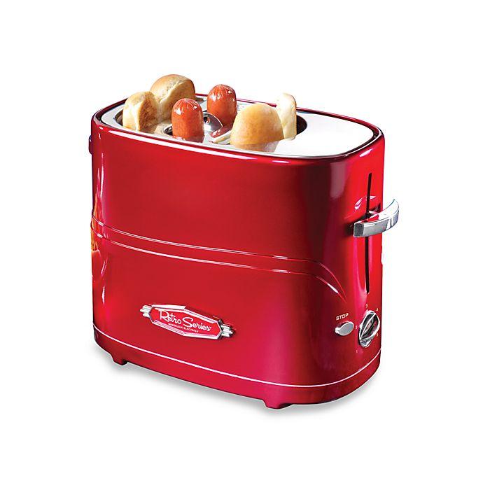 Alternate image 1 for Nostalgia™ Electrics Hot Dog Pop-Up Toaster