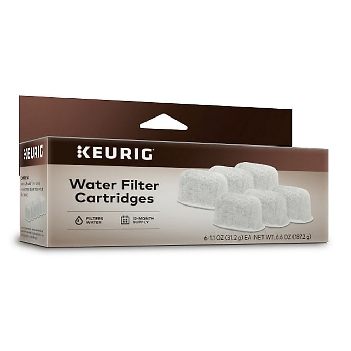 Alternate image 1 for Keurig® Water Filters for the Gourmet Single Cup Home Brewer (Set of 6)