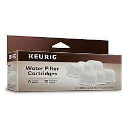 Keurig® Water Filters for the Gourmet Single Cup Home Brewer (Set of 6)