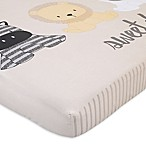 NoJo® Play Day Pals Cotton Photo Op Fitted Crib Sheet