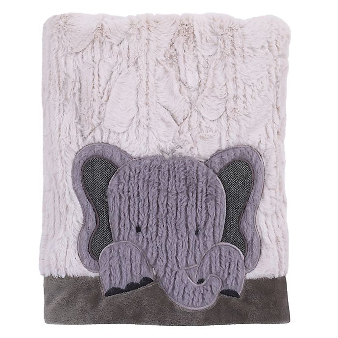 Alternate image 1 for NoJo® Play Day Pals Elephant Blanket
