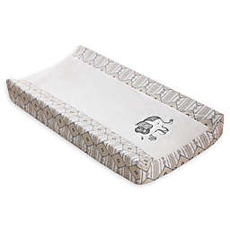 Levtex Baby® Elephant Animal Sketch Embroidered Changing Pad Cover