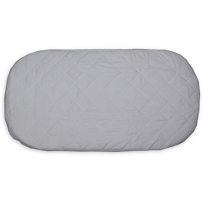 Alternate image 1 for Bambino Bassinet Pad in White