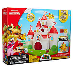 World of Nintendo® 16-Piece Mushroom Kingdom Castle Playset