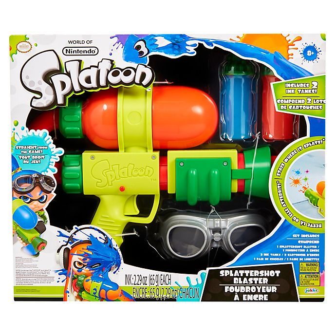 Alternate image 1 for Splatoon Splattershot Ink Blaster Toy
