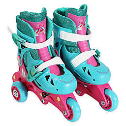 PlayWheels Trolls Size 6-9 Convertible 2-in-1 Roller Skates