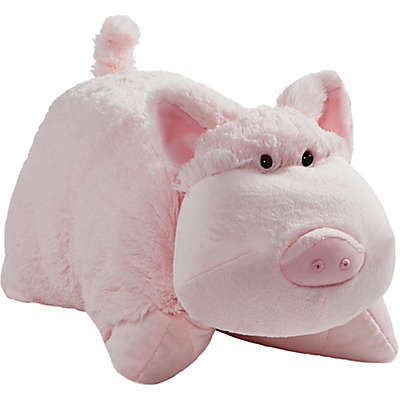 Pillow Pets® Wiggly Pig Pillow Pet in Pink