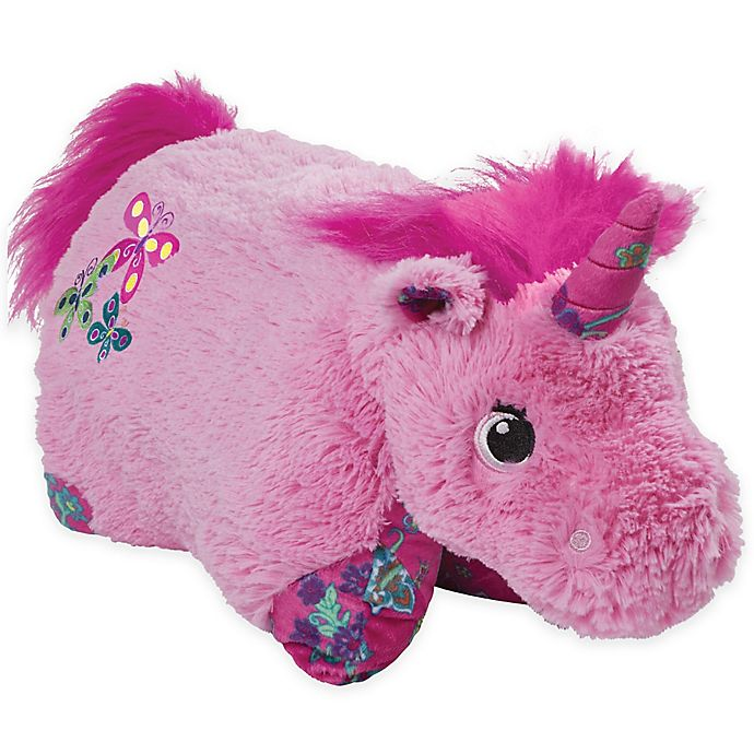 Alternate image 1 for Pillow Pets® Colorful Unicorn Pillow Pet