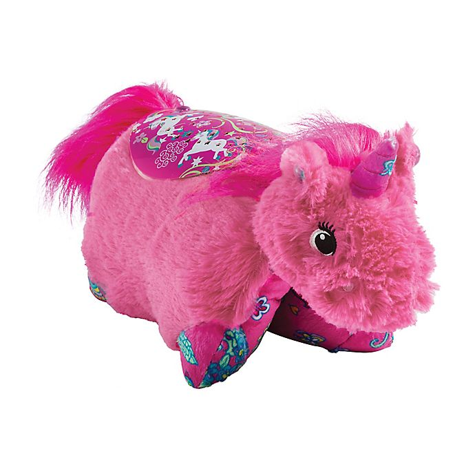 Alternate image 1 for Pillow Pets® Pink Unicorn Sleeptime Lite Night Light Pillow Pet
