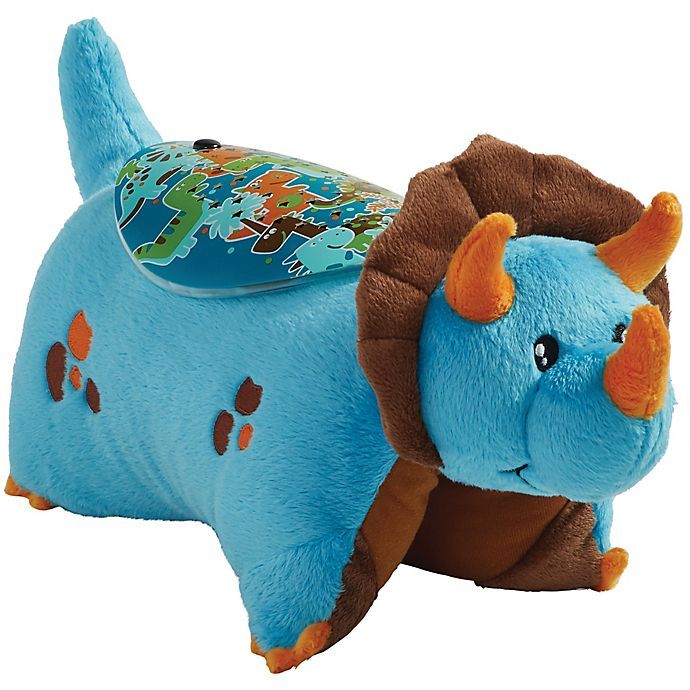 Alternate image 1 for Pillow Pets® Blue Dinosaur Sleeptime Lite Night Light Pillow Pet