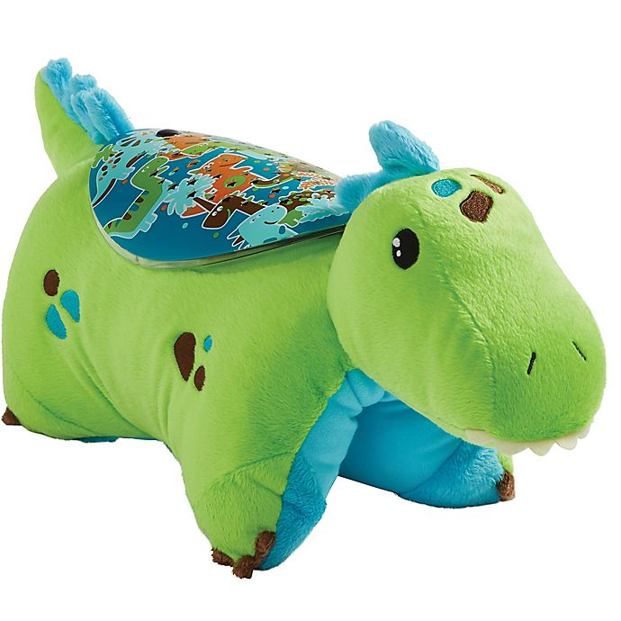 Alternate image 1 for Pillow Pets® Green Dinosaur Sleeptime Lite Night Light Pillow Pet