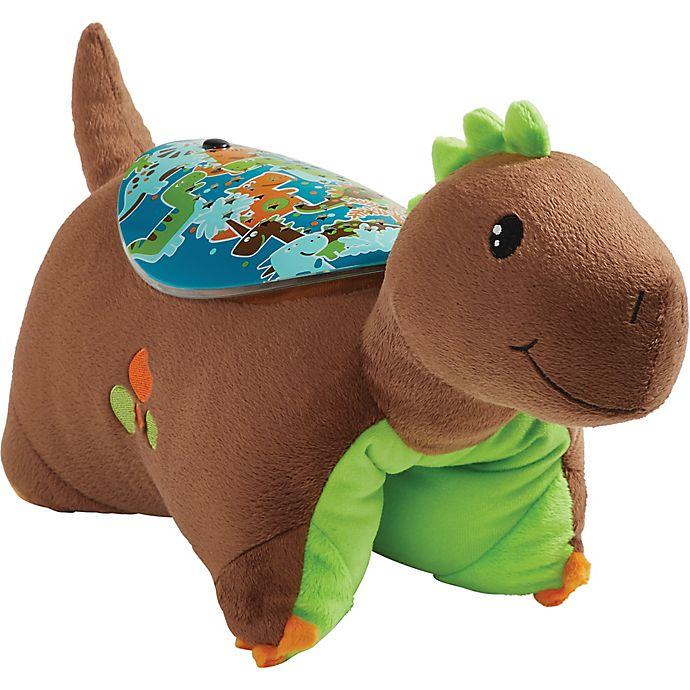 Alternate image 1 for Pillow Pets® Brown Dinosaur Sleeptime Lite Night Light Pillow Pet