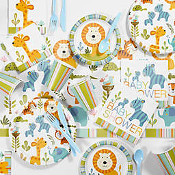 Creative Converting™ 81-Piece Happy Jungle Boy Baby Shower Kit