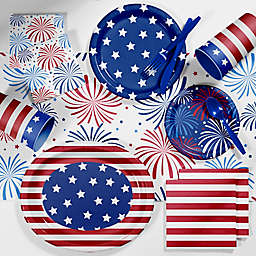 Creative Converting™ 89-Piece Patriotic Deluxe Party Supplies Kit