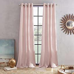 Skylar 108-Inch Grommet Window Curtain Panel in Mulberry