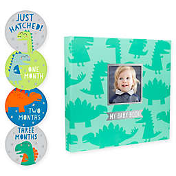 Pearhead® Baby's Dinosaur Memory Book and Sticker Set