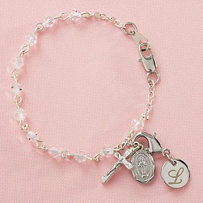 Baby Rosary 5-Inch Bracelet.