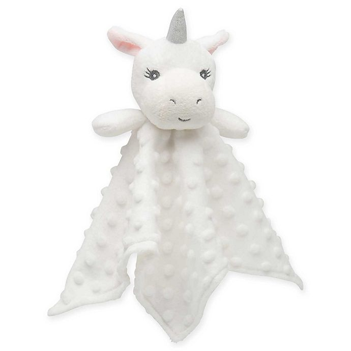 Alternate image 1 for Elegant Baby® Unicorn Blankie Buddy in White