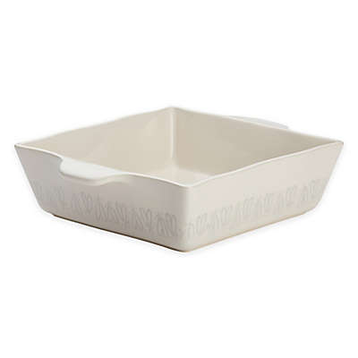 Ayesha Curry™ 8-Inch Square Stoneware Baker in French Vanilla