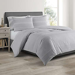 Real Simple® DUO Driftwood Coverlet/Duvet Cover Set